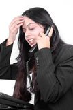 Communication Headaches Stock Photography