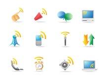 Communication icon Stock Photos