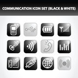 Communication Icon Set Stock Photo