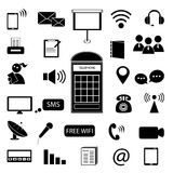 Communication icon Royalty Free Stock Images