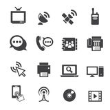 Communication icon Stock Image