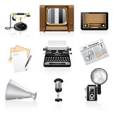 Communication icons. Royalty Free Stock Photo