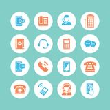 Communication Icons Stock Images