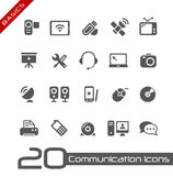 Communication Icons // Basics Royalty Free Stock Photos