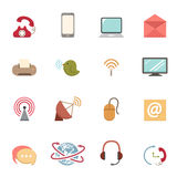 Communication icons Stock Photos