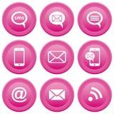 Communication icons royalty free illustration