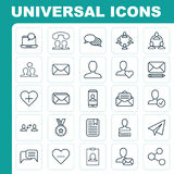 Communication Icons Set. Collection Of Note Page, Call, Teamwork And Other Elements. Also Includes Symbols Such As Top Stock Photos
