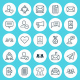 Communication Icons Set. Collection Of Teamwork, Edit, Significant And Other Elements. Also Includes Symbols Such As Pen Royalty Free Stock Photo