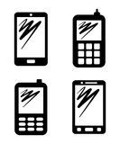 Communication icons Stock Photography