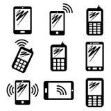Communication icons Stock Images