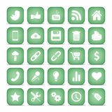 Communication icons. Web set Internet collection. Royalty Free Stock Photos