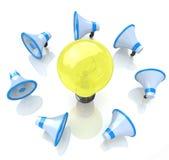 Communication of ideas Royalty Free Stock Image