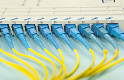 Communication and internet network server Royalty Free Stock Photo