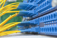 Communication and internet network server Stock Photos