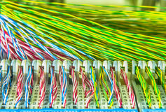 Communication and internet network server Royalty Free Stock Image