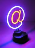 Communication Light. A photo of a light with a communication theme Stock Photo