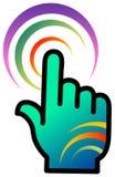 Communication logo Stock Images