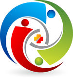 Communication logo Royalty Free Stock Photos