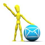 Communication Man Stock Photography