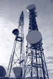 Communication mast Stock Photos