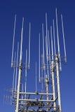 Communication mast royalty free stock photos