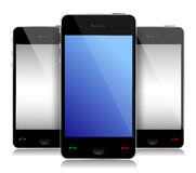 Communication mobile concept Stock Photography