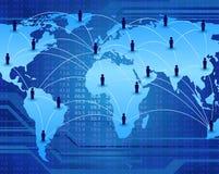 Communication network Royalty Free Stock Photo