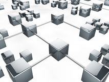 Communication Network Indicates Web Internet And Server Stock Images