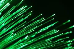 Communication optique de fibre Photographie stock