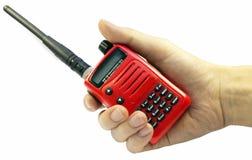 Communication par radio Photo stock
