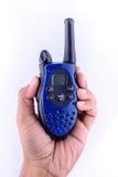 Communication par radio Photographie stock libre de droits