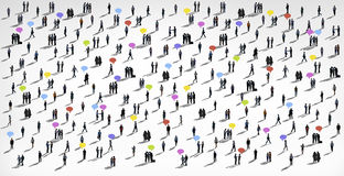 Communication People Diverse Crowd Business People Concept Royalty Free Stock Photography