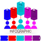 Communication people infographics Royalty Free Stock Photo