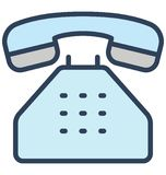 Communication, phone call Isolated Vector Icon That can be easily edited in any size or modified. stock illustration