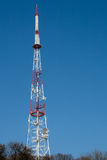 Communication phone tower Royalty Free Stock Image