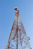 Communication poles telecoms technology Stock Photos