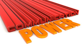 Communication power Royalty Free Stock Photos