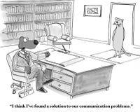 Communication Problems Stock Image