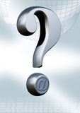 Communication question Royalty Free Stock Images
