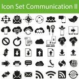 Communication réglée II d'icône Photographie stock libre de droits