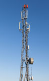 Communication radio tower Royalty Free Stock Photos