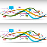 Communication Ribbon Stock Image