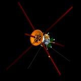 Communication satellite Royalty Free Stock Photo