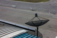 Communication satellite dish Stock Photo