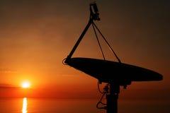 Communication at sea Stock Image