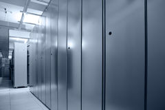 Communication server center Royalty Free Stock Photography