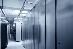 Communication server center Stock Image