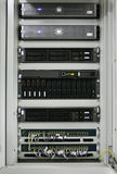 Communication servers center Stock Image