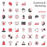 Communication Service Icons royalty free illustration