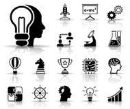 Communication Service Icons stock illustration
